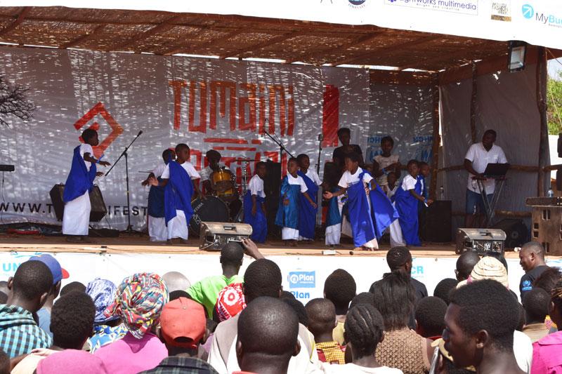 Tumaini Children performance