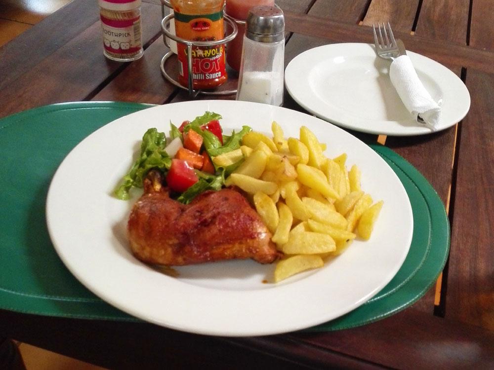 Mapiri chips and chicken